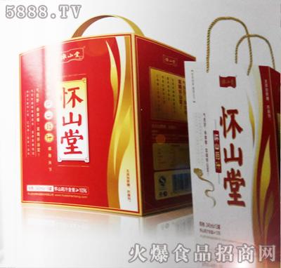 怀山堂怀山药汁240ml12罐装礼盒产品图