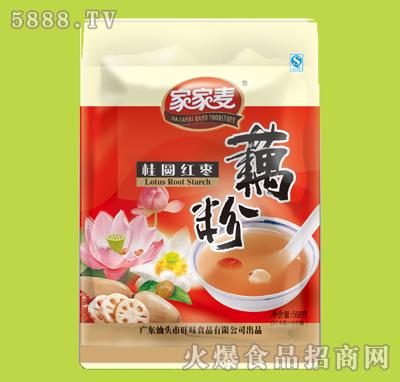 家家麦桂圆红枣藕粉568g产品图