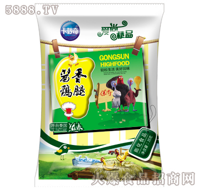 35g卡妙奇酱香鸡腿膨化食品