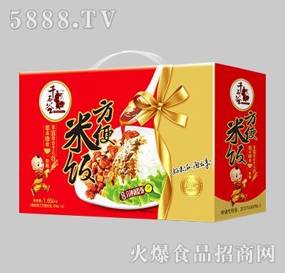 千石谷香辣鸡丁方便米饭208gX8包