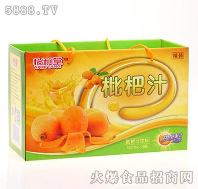 怡和堂枇杷汁饮料450mlX8