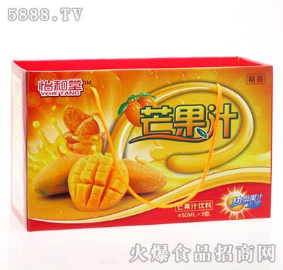 怡和堂芒果汁饮料450mlX8