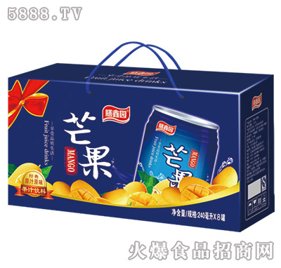 膳鑫园芒果汁240mlx8罐装礼盒