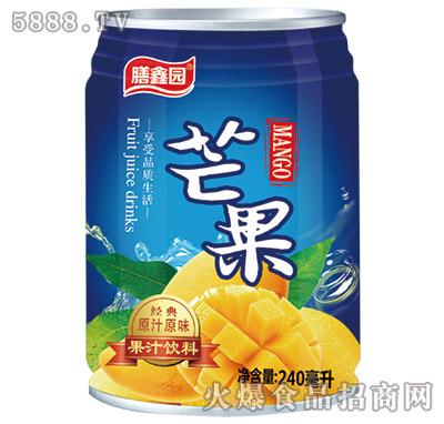膳鑫园芒果汁240ml罐装