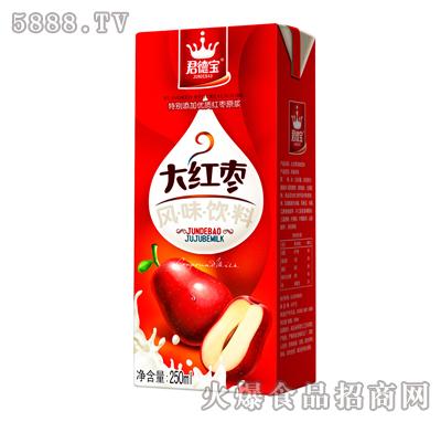 君德宝大红枣风味饮料250ml