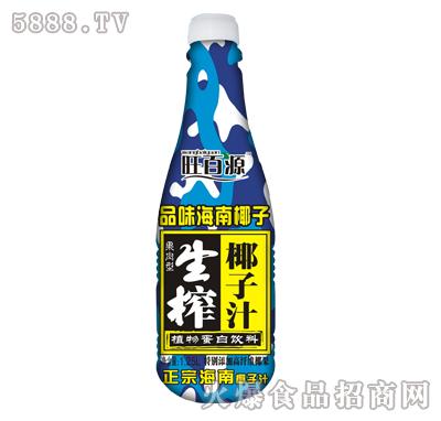 旺百源生榨椰子汁500mlx15