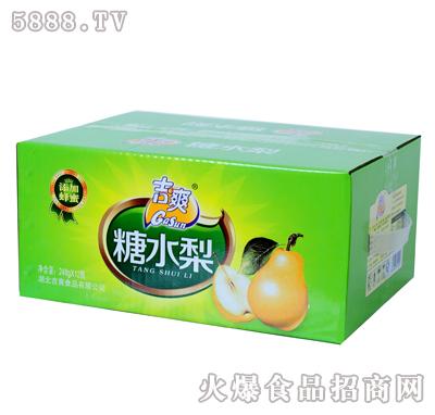 吉爽糖水梨罐头248gX12