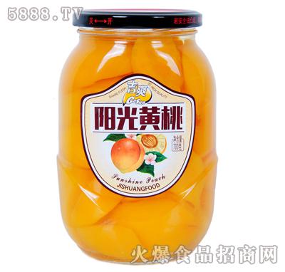吉爽阳光黄桃罐头700g