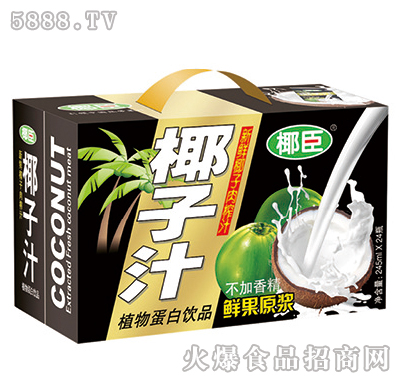 240ml椰臣椰子汁礼盒