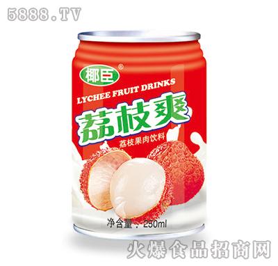 250ml椰臣荔枝爽果肉饮料