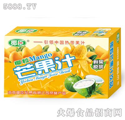 250ml椰臣椰粒芒果汁箱装