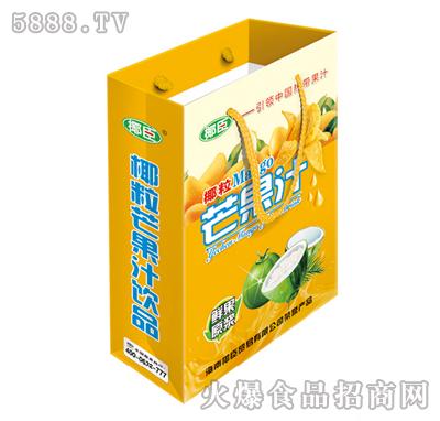 250ml椰臣椰粒芒果汁手提装