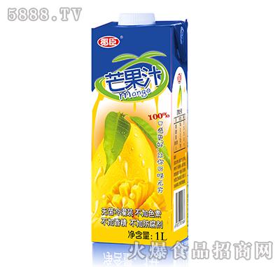 1L椰臣芒果汁