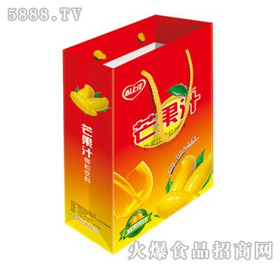 250ml心上佳芒果汁椰粒饮料(红)手提装