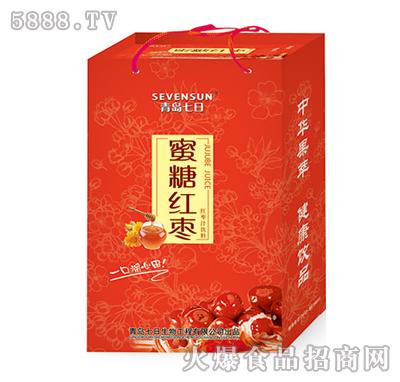 250ml青岛七日蜜糖红枣汁饮料手提装