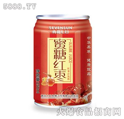 250ml青岛七日蜜糖红枣汁饮料