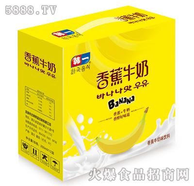 250ml韩一香蕉牛奶礼盒