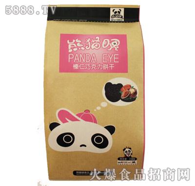 熊猫眼榛仁巧克力饼干158g