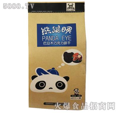 熊猫眼巴旦木巧克力饼干158g