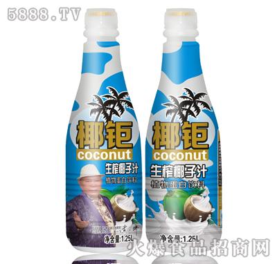 1.25L椰钜椰子汁银迷彩