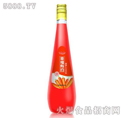心相印幸福有约胡萝卜汁饮料858ml产品图