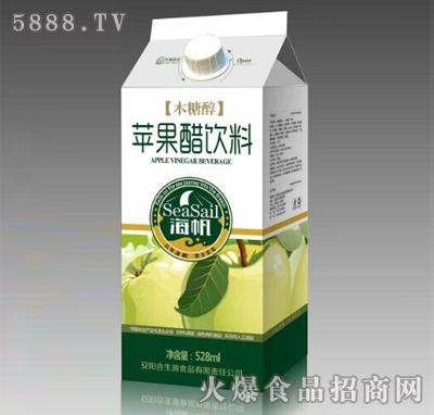 海帆木糖醇苹果醋饮料528ml