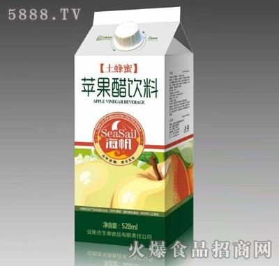 海帆土蜂蜜苹果醋饮料528ml