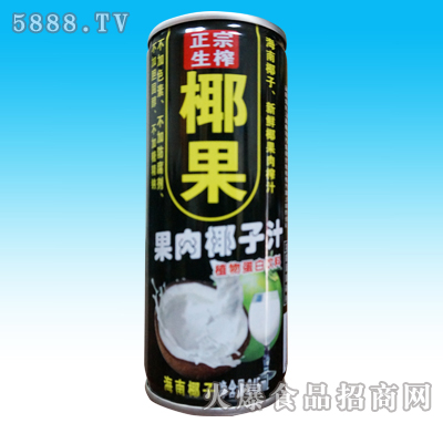 椰正世家生榨椰子汁果肉型245ml