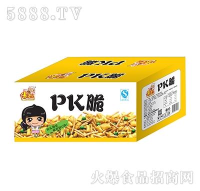 米老兄PK脆油炸型膨化食品箱装