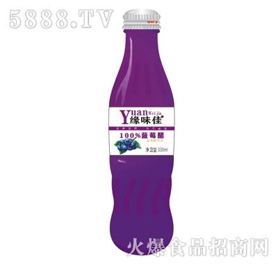 缘味佳蓝莓醋330ml