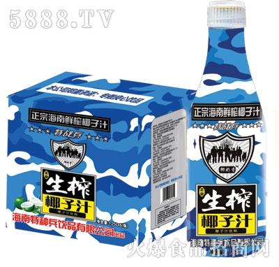 特战兵海南生榨椰子汁1.25Lx6瓶