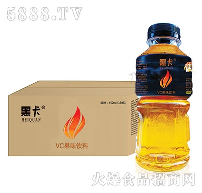 黑卡VC果味饮料450mlx15瓶