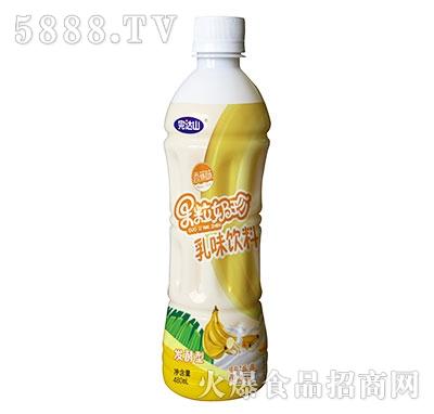 完达山果粒奶珍香蕉味480ml