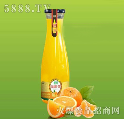 1L橙邦金桔香橙汁饮料