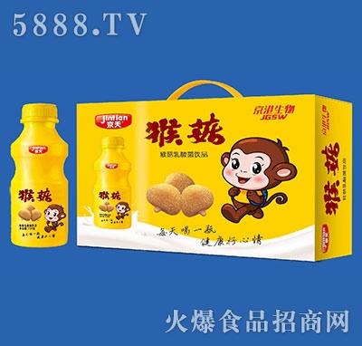 京天猴菇乳酸菌饮品338gx10瓶
