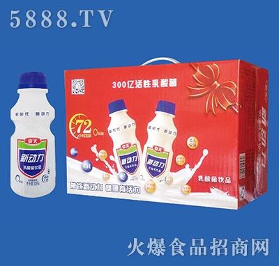 京天新动力乳酸菌饮品338gx12瓶
