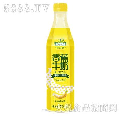 500ml伊思特香蕉牛奶乳味饮料