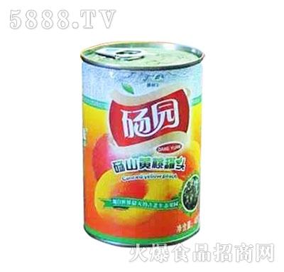 砀园黄桃罐头