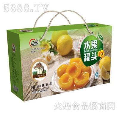 山诺水果罐头礼盒758gx4瓶