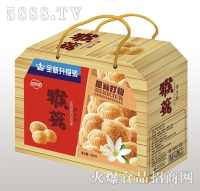 金娇阳猴菇养生奶木礼盒装