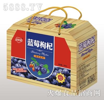 金娇阳蓝莓枸杞果味饮料木礼盒装