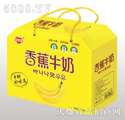 金娇阳香蕉牛奶礼盒