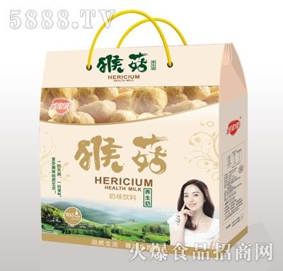 金娇阳猴菇奶味饮料礼盒