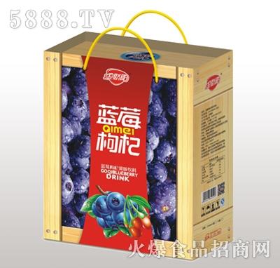 金娇阳蓝莓枸杞果味饮料木礼盒