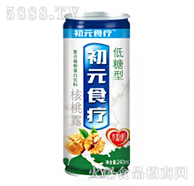 初元食疗核桃露低糖型240ml