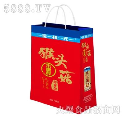 金初元猴头菇养胃粥手提袋