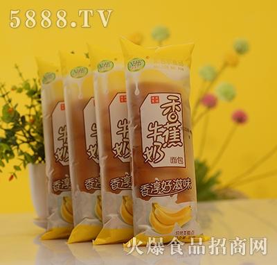 奶吉尔香蕉牛奶面包90g