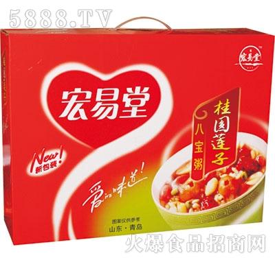 宏易堂八宝桂圆莲子粥产品图