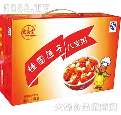 宏易堂桂圆莲子八宝粥产品图