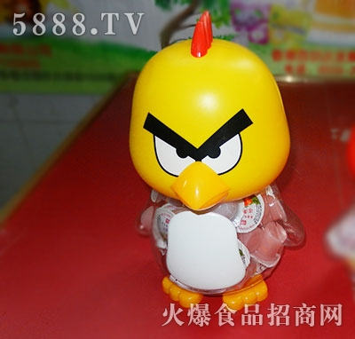 卡通愤怒的小鸟罐装果冻